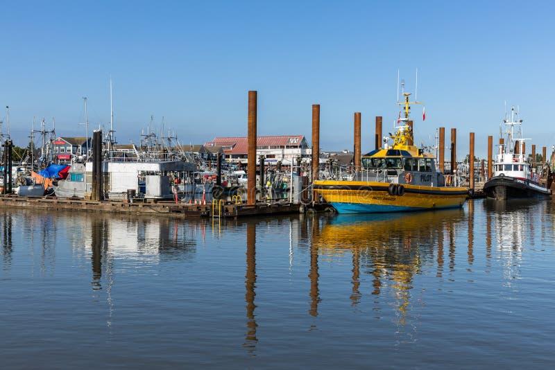 Το λιμάνι του Ρίτσμοντ στον Καναδά στοκ εικόνες