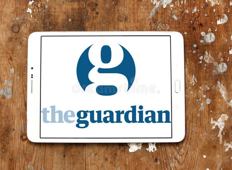 Το λογότυπο Guardian στοκ φωτογραφίες