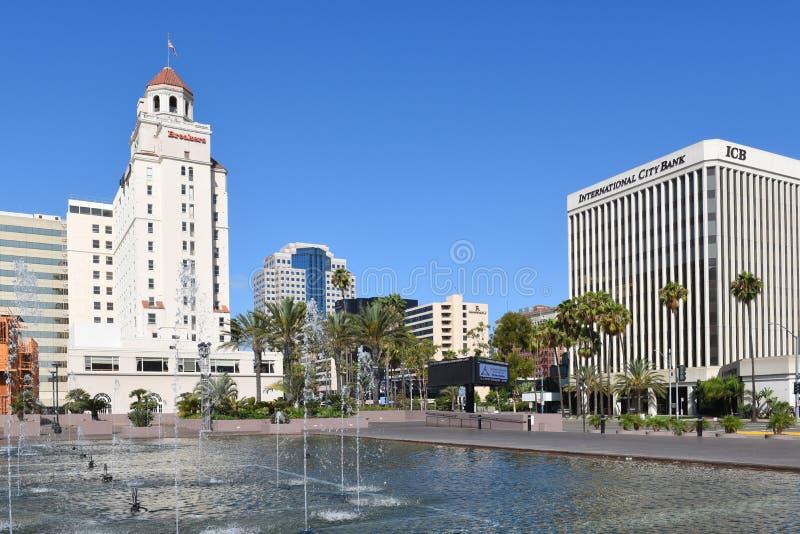 Το Λονγκ Μπιτς Καλιφόρνια ξενοδοχείων διακοπτών στοκ εικόνες