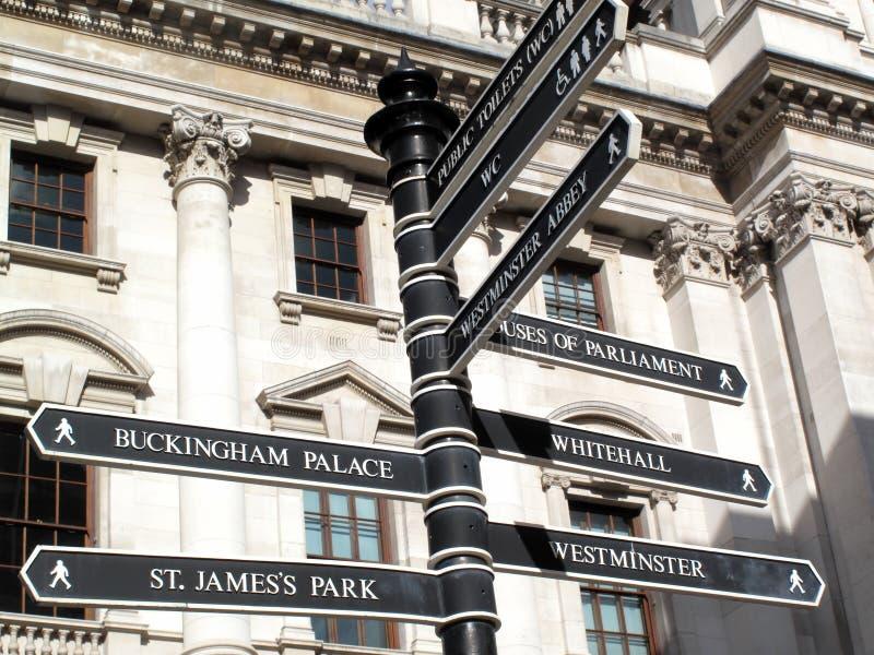 Το Λονδίνο καθοδηγεί στοκ εικόνα