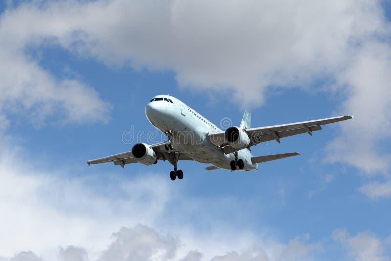 Airbus A319-114 του Air Canada στοκ φωτογραφίες