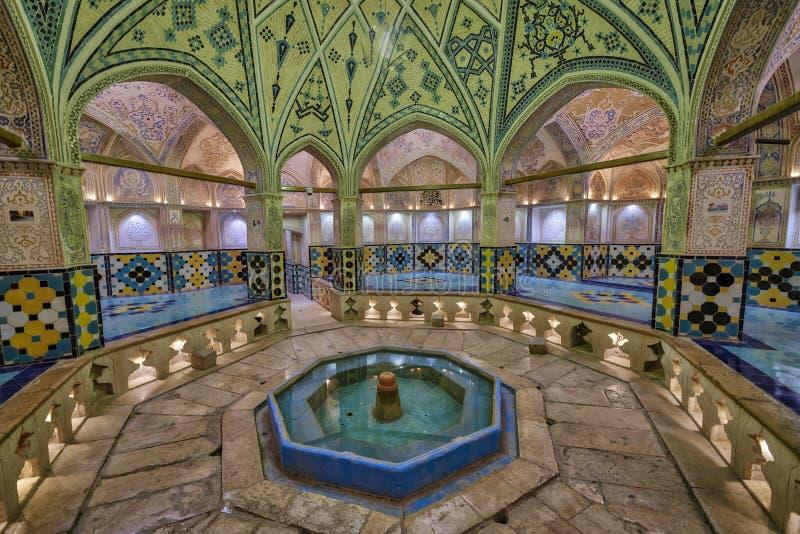 Το λουτρό του Ahmad εμιρών σε Kahsan Ιράν στοκ εικόνα