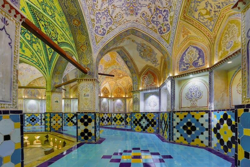 Το λουτρό του Ahmad εμιρών σε Kahsan Ιράν στοκ φωτογραφίες με δικαίωμα ελεύθερης χρήσης