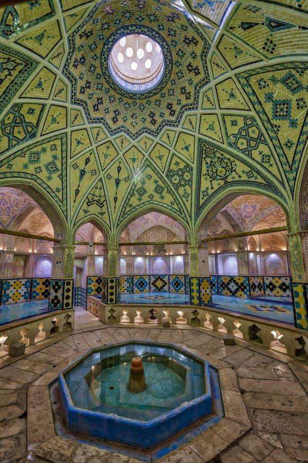 Το λουτρό του Ahmad εμιρών σε Kahsan Ιράν στοκ φωτογραφίες