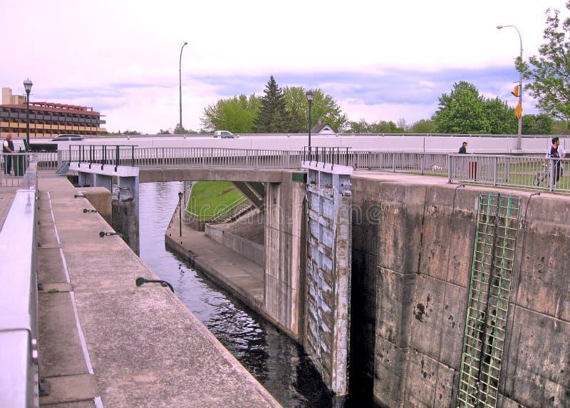 Το Μάιο του 2008 κλειδαριών πτώσεων Smiths καναλιών Rideau στοκ φωτογραφίες με δικαίωμα ελεύθερης χρήσης