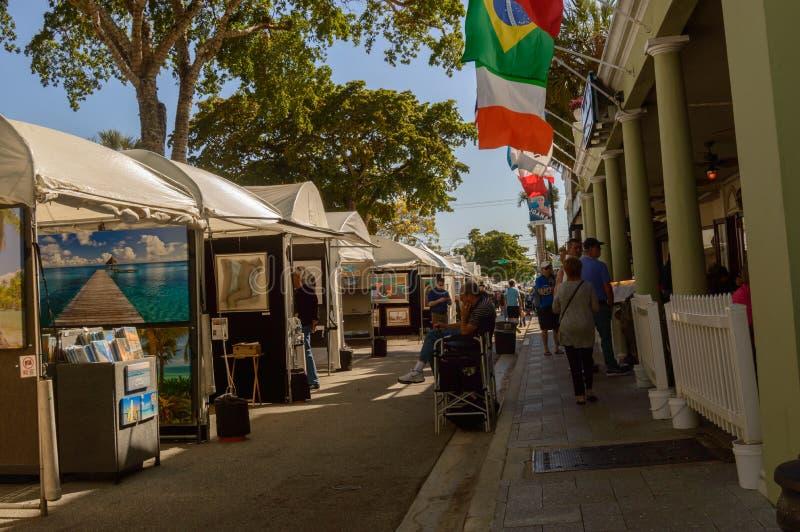 Το Μάρτιο του 2018 στο κέντρο της πόλης FT φεστιβάλ τέχνης Olas Las Lauderdale6 στοκ εικόνες με δικαίωμα ελεύθερης χρήσης