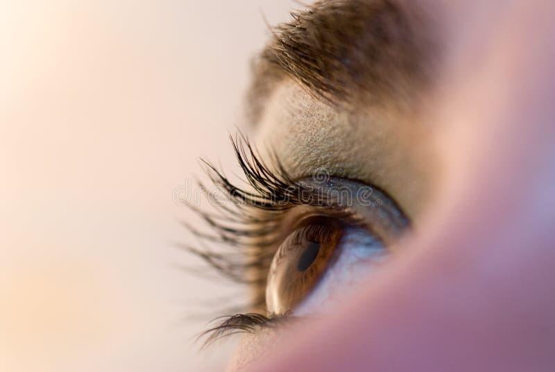 το μάτι ανοίγει στοκ φωτογραφία με δικαίωμα ελεύθερης χρήσης