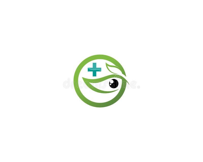 Το μάτι Horus & x28 Μάτι του RA, Wadjet& x29  θεωρημένος από αρχαίους Αιγυπτίους για να υπάρξουν οι θεραπεύοντας και προστατευτικ ελεύθερη απεικόνιση δικαιώματος
