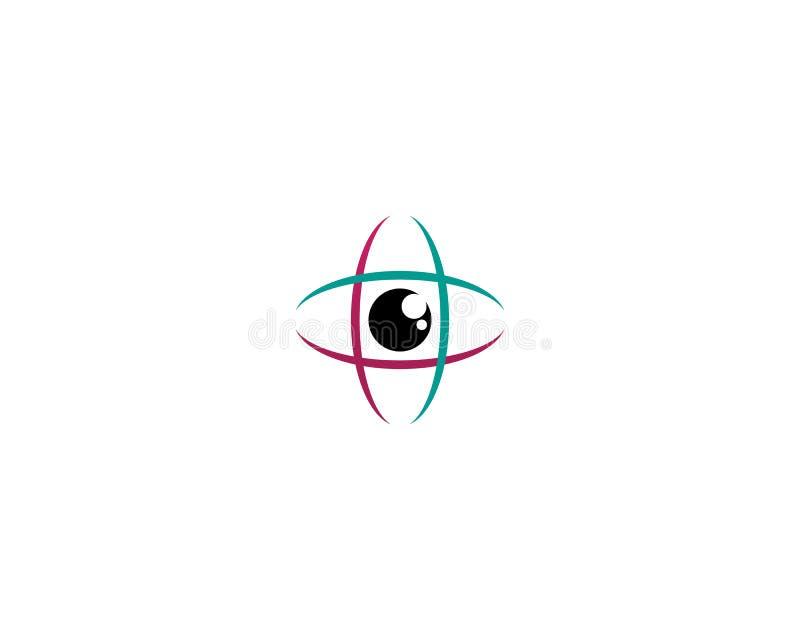 Το μάτι Horus & x28 Μάτι του RA, Wadjet& x29  θεωρημένος από αρχαίους Αιγυπτίους για να υπάρξουν οι θεραπεύοντας και προστατευτικ απεικόνιση αποθεμάτων