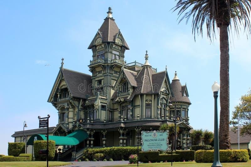 Το μέγαρο του Carson, EUREKA, Καλιφόρνια στοκ εικόνα με δικαίωμα ελεύθερης χρήσης