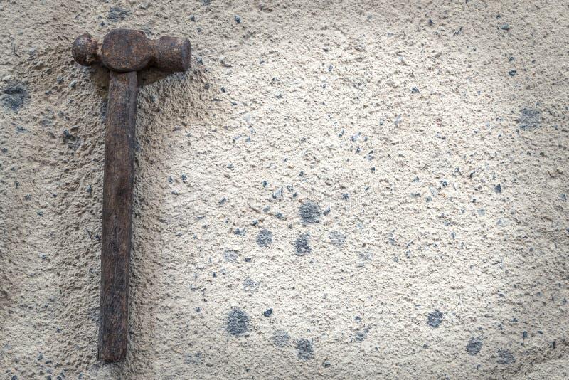 Το μέγεθος του παλαιού τύπου σφυριών - εικόνα αποθεμάτων στοκ εικόνα
