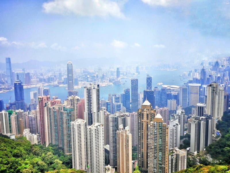 Το μέγιστο Χονγκ Κονγκ στοκ εικόνες
