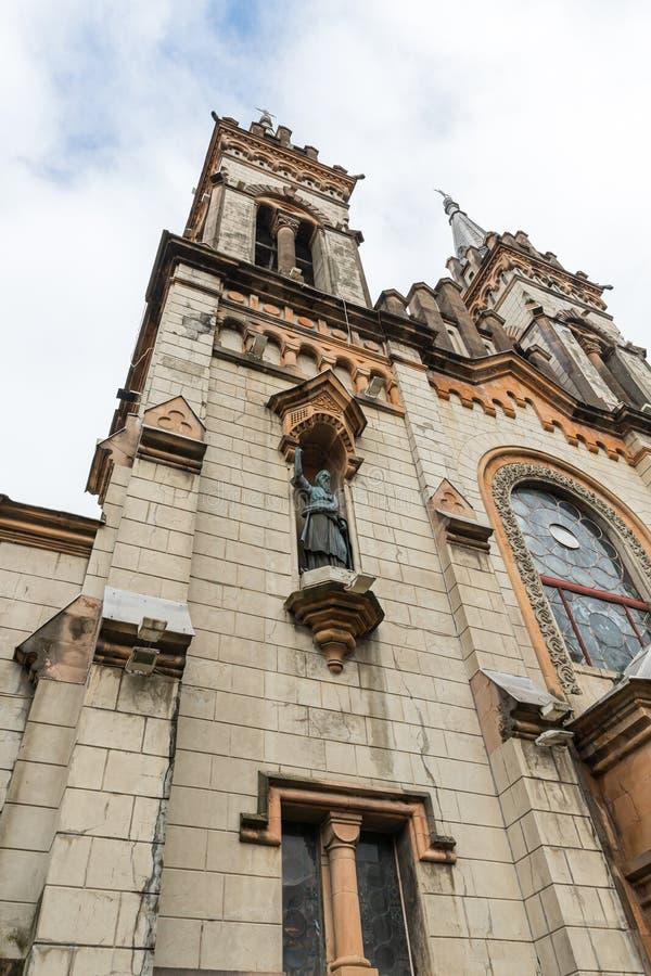 Το μέρος της φασαρίας του καθεδρικού ναού της Αγίας Παρθένου Παναγίας στην πόλη Batumi - πρωτεύουσα της Αντζάρα στη Γεωργία στοκ εικόνες με δικαίωμα ελεύθερης χρήσης