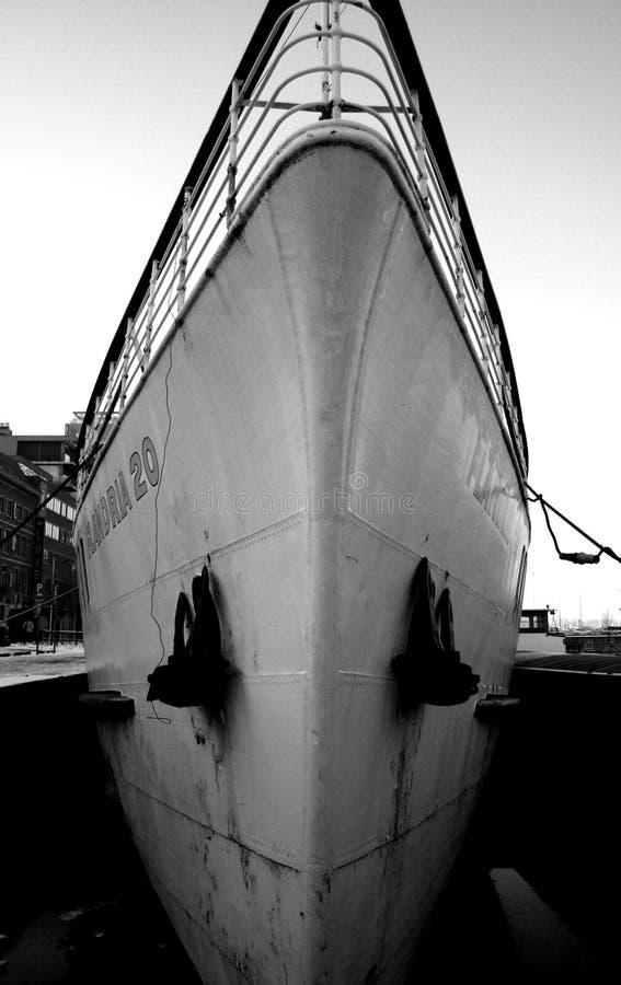 Το μέτωπο ενός σκάφους στοκ φωτογραφία με δικαίωμα ελεύθερης χρήσης