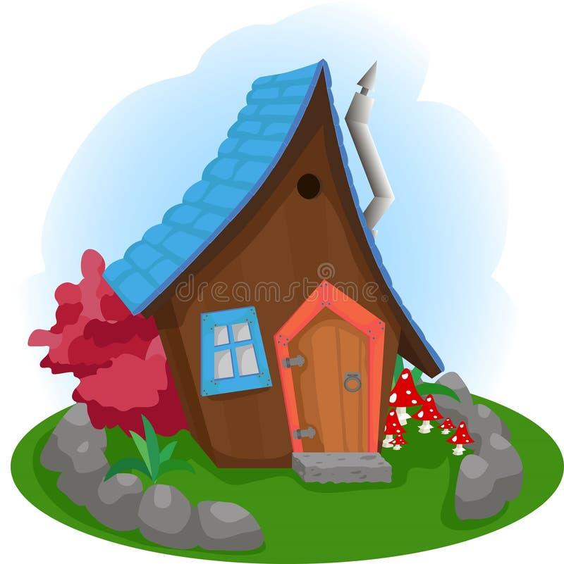 Το μαγικό μικρό σπίτι στοκ φωτογραφίες