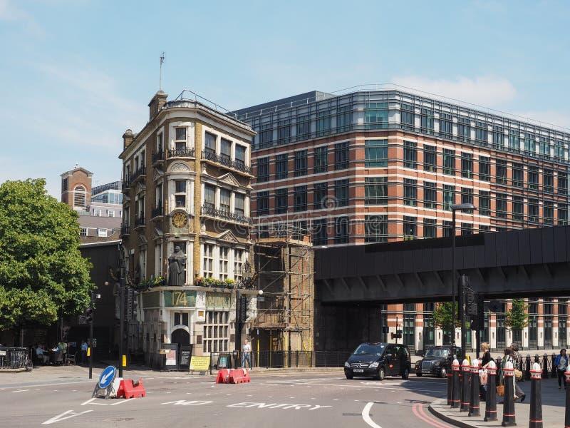 Το μαύρο Friar μπαρ στο Λονδίνο στοκ εικόνες