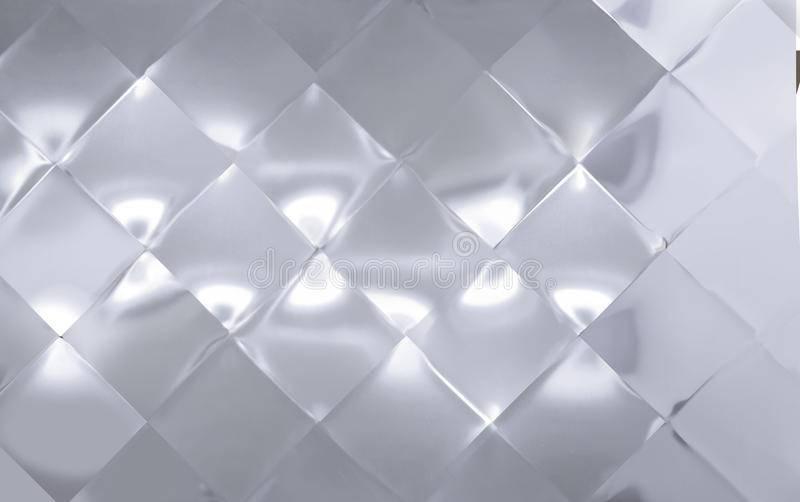 Το μεγάλο διαμάντι το μεταλλικό πιάτο διανυσματική απεικόνιση