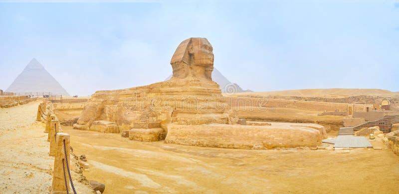 Το μεγάλο Sphinx σε Giza, Αίγυπτος στοκ φωτογραφίες με δικαίωμα ελεύθερης χρήσης