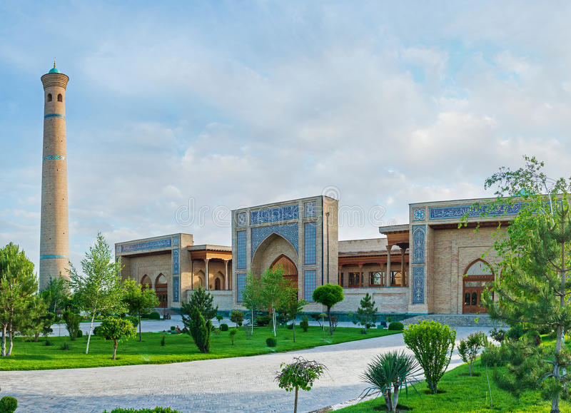 Το μεγάλο μουσουλμανικό τέμενος της Τασκένδης στοκ εικόνες με δικαίωμα ελεύθερης χρήσης