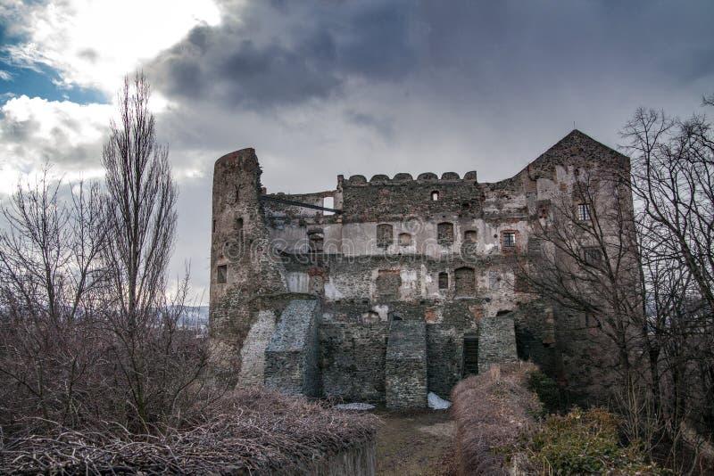 Το μεσαιωνικό Castle σε Bolkow Χαμηλότερη Σιλεσία στοκ φωτογραφίες
