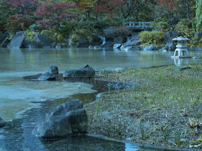 Το μικρό πάρκο στο Τόκιο στοκ εικόνες