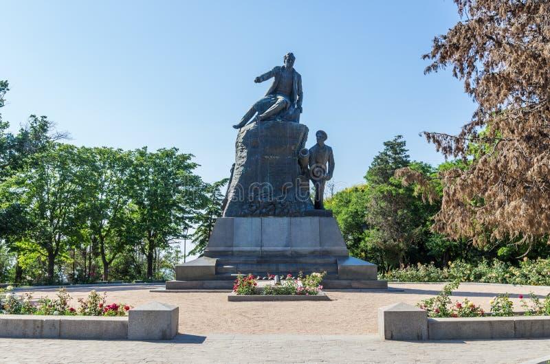 Το μνημείο στον κακία-ναύαρχο Kornilov στοκ φωτογραφία με δικαίωμα ελεύθερης χρήσης