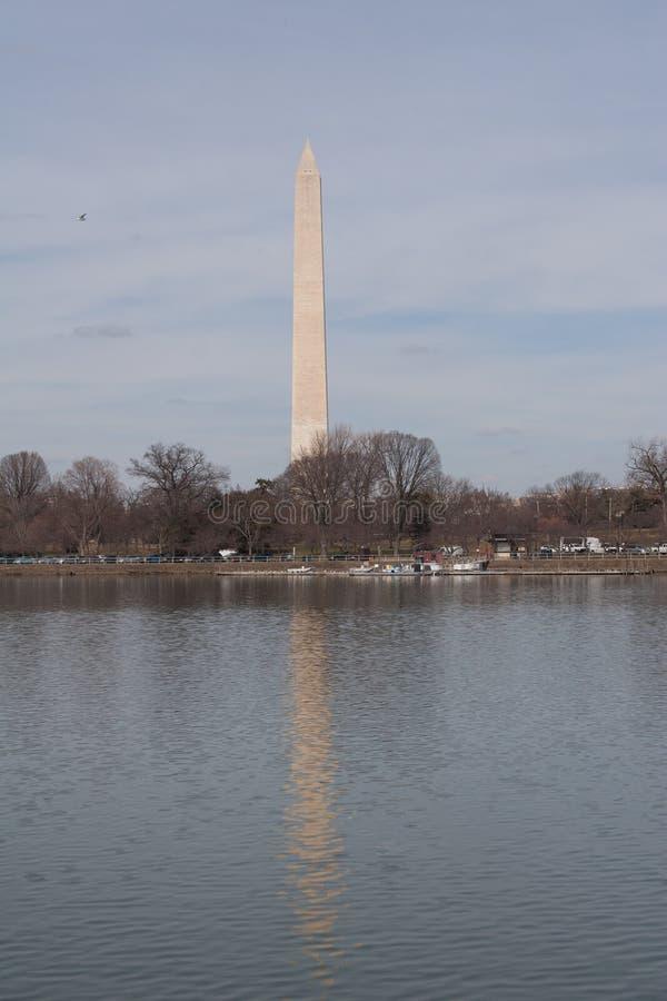 Απεικονισμένο μνημείο της Ουάσιγκτον στοκ φωτογραφίες με δικαίωμα ελεύθερης χρήσης