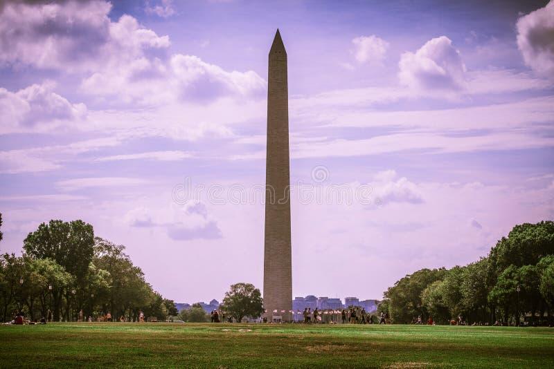 Το μνημείο της Ουάσιγκτον στοκ εικόνες