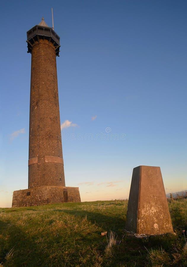 Το μνημείο του Βατερλώ στα σκωτσέζικα σύνορα στοκ εικόνα