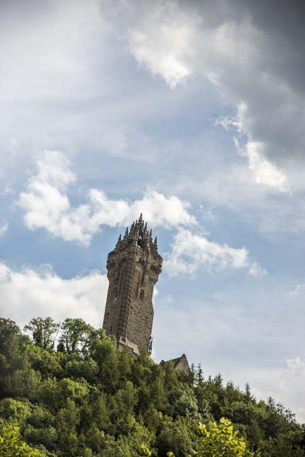 Το μνημείο Wallace στη Σκωτία στοκ φωτογραφίες