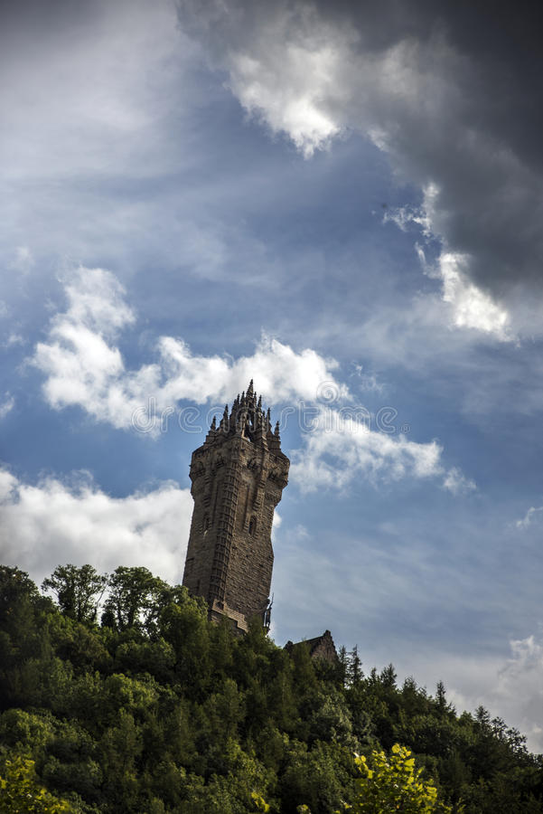 Το μνημείο Wallace στη Σκωτία στοκ φωτογραφίες με δικαίωμα ελεύθερης χρήσης