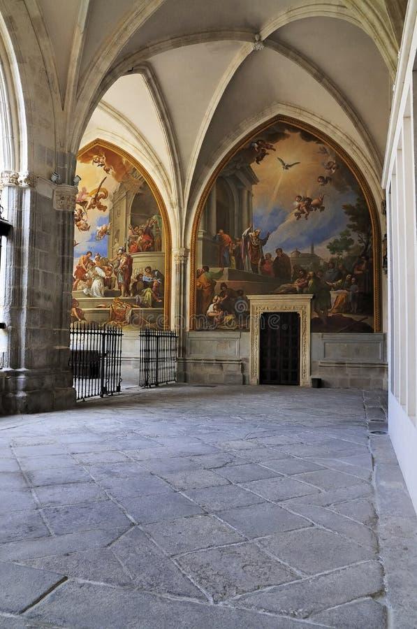 Μοναστήρι του καθεδρικού ναού του Τολέδο στοκ εικόνα