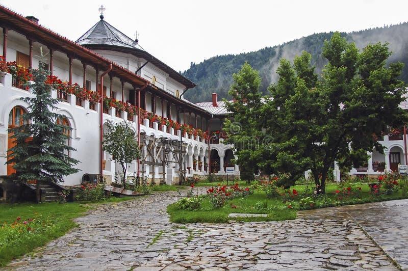 το μοναστήρι Agapia στοκ εικόνες με δικαίωμα ελεύθερης χρήσης