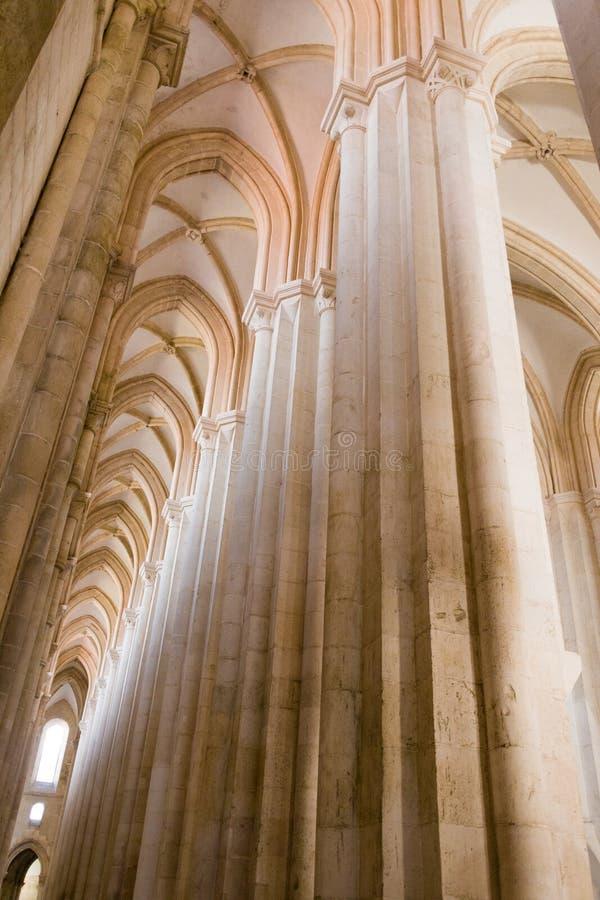 Το μοναστήρι Alcobaca είναι μια περιοχή της ΟΥΝΕΣΚΟ στην Πορτογαλία στοκ εικόνες