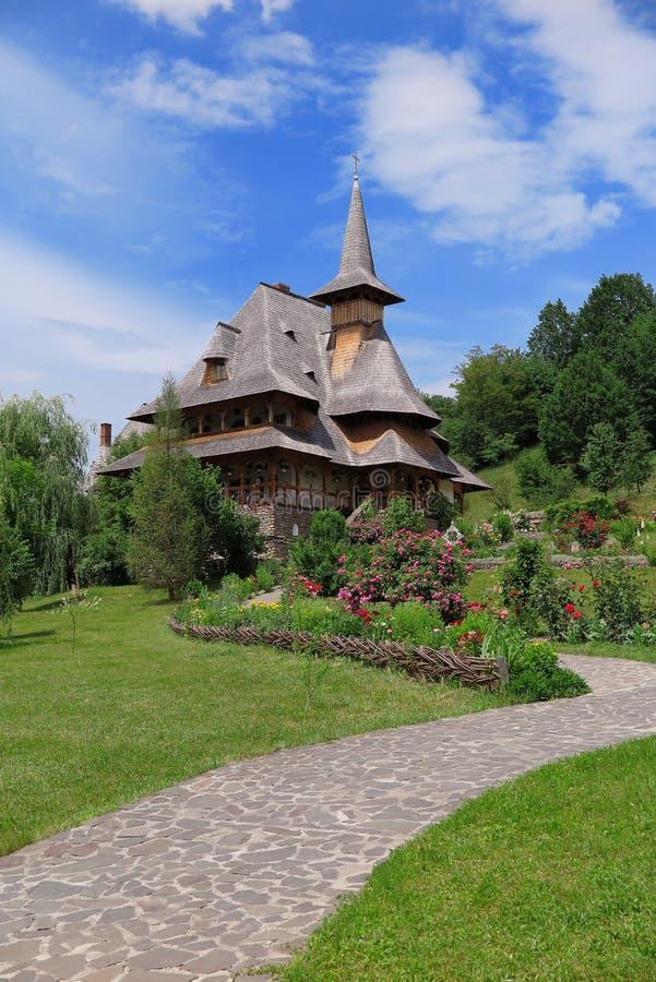 Το μοναστήρι Barsana στη Ρουμανία στοκ φωτογραφία