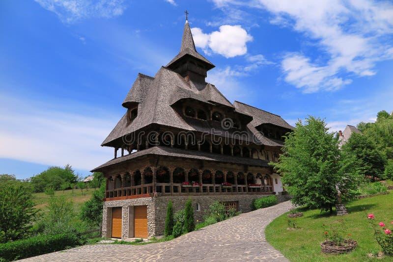 Το μοναστήρι Barsana στη Ρουμανία στοκ εικόνες