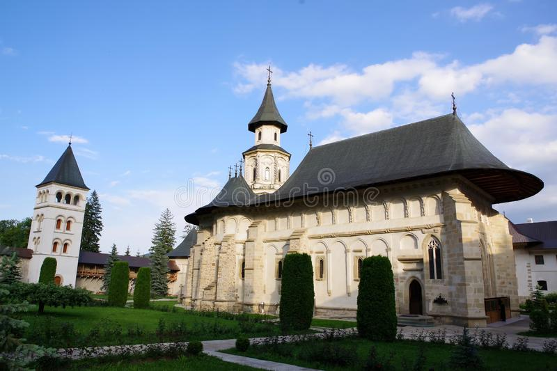 Το μοναστήρι Putna στοκ εικόνα