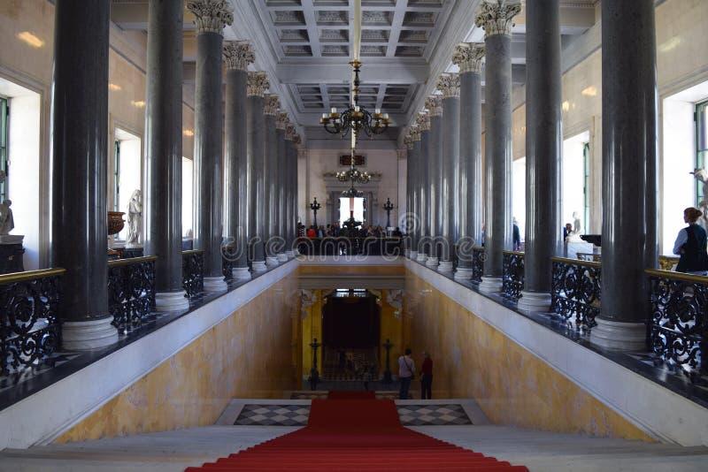 Το Μουσείο Ερμιτάζ των λεπτών και διακοσμητικών τεχνών στοκ φωτογραφία