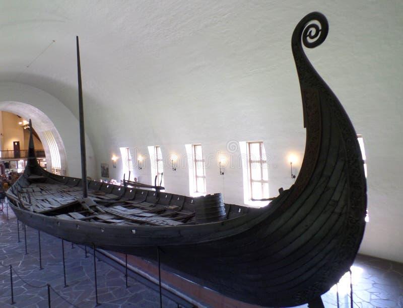 Το μουσείο σκαφών Βίκινγκ στο Όσλο στοκ φωτογραφία