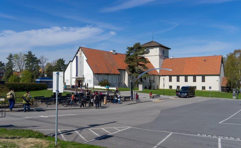 Το μουσείο σκαφών Βίκινγκ στοκ φωτογραφία με δικαίωμα ελεύθερης χρήσης
