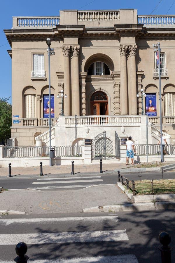 Το μουσείο τέσλα της Nikola στοκ εικόνα