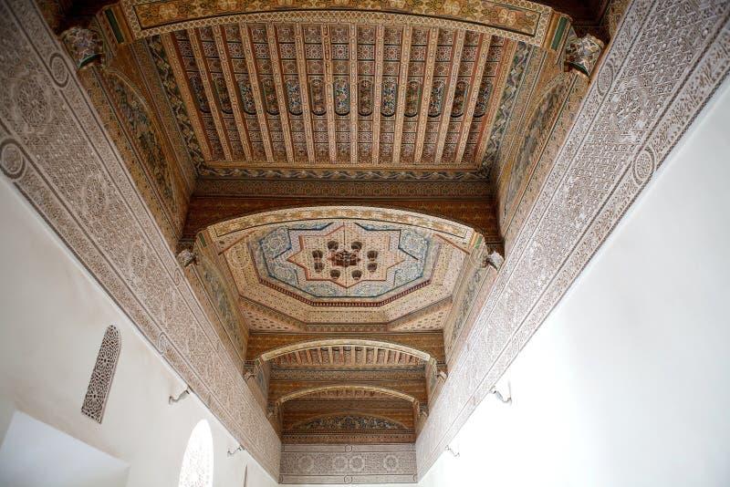 Το μουσείο του Μαρακές Στοκ Φωτογραφία