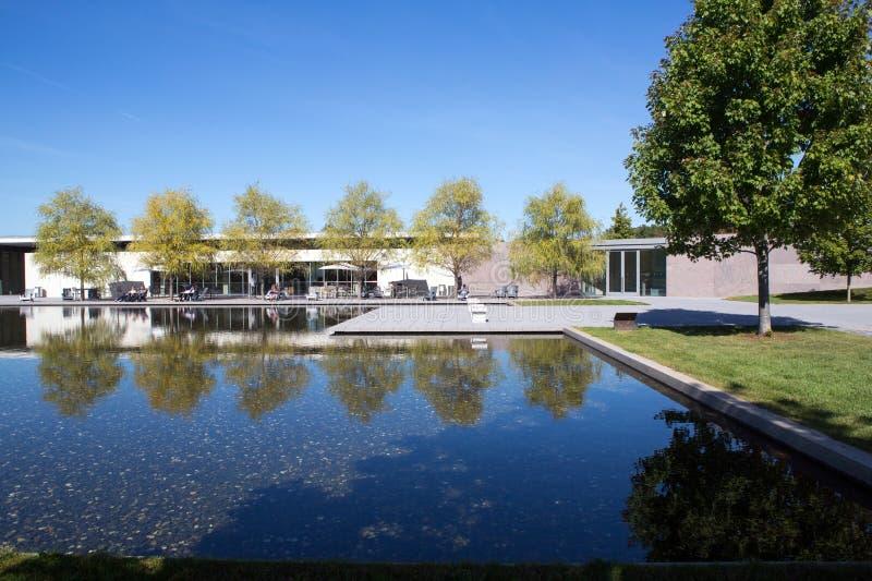 Το μουσείο του Clark στοκ εικόνες