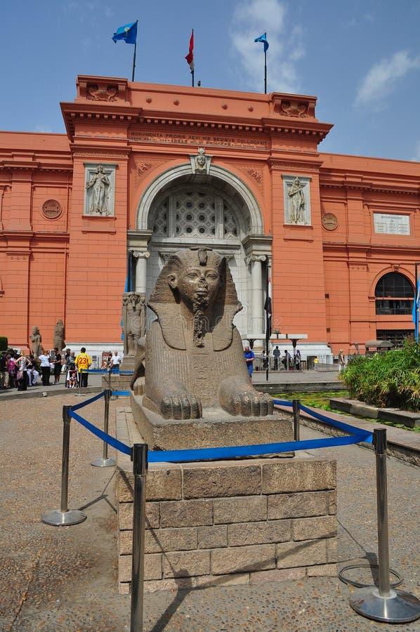 Το μουσείο των αιγυπτιακών αρχαιοτήτων στοκ φωτογραφία