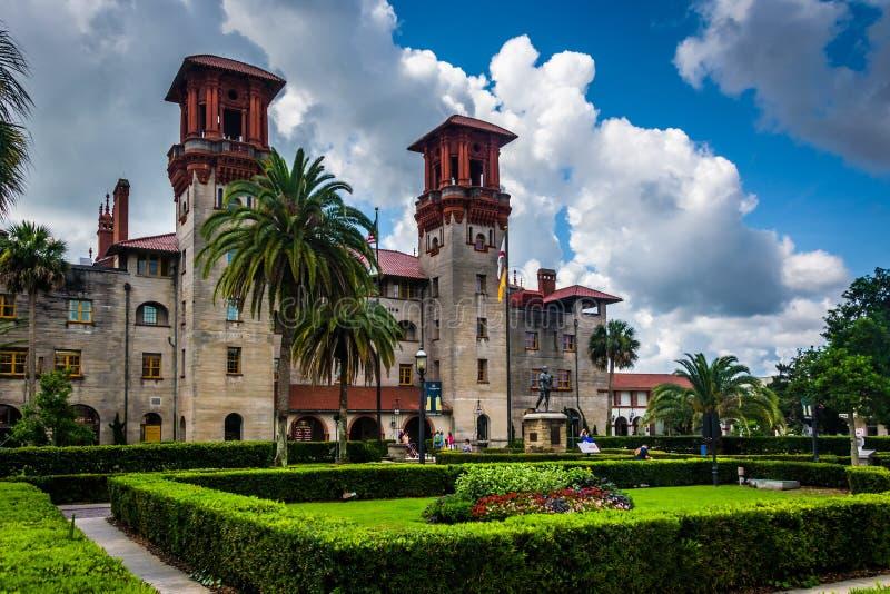 Το μουσείο Lightner, στο ST Augustine, Φλώριδα στοκ φωτογραφία με δικαίωμα ελεύθερης χρήσης