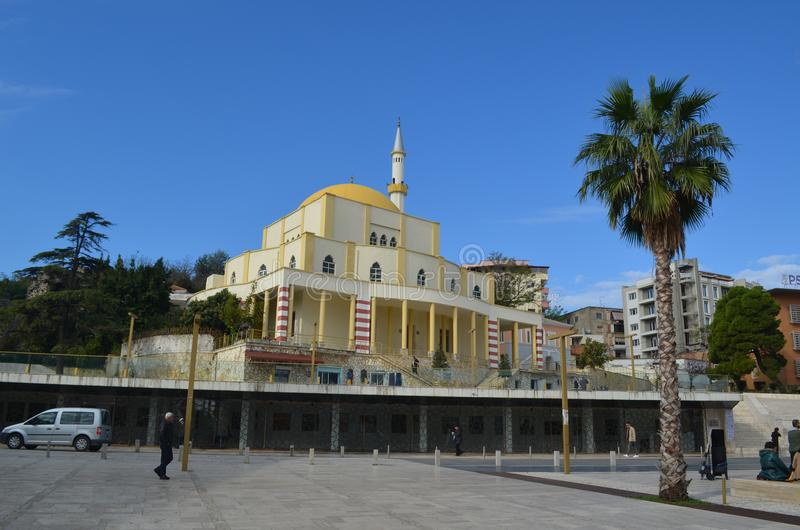 Το μουσουλμανικό τέμενος σε Durres, Αλβανία στοκ φωτογραφία με δικαίωμα ελεύθερης χρήσης