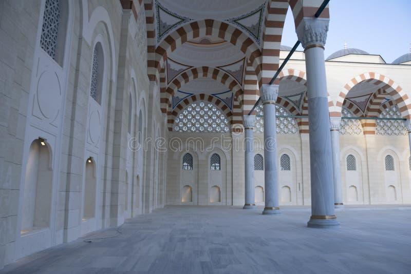 Το μουσουλμανικό τέμενος Camlica έχει τη διάκριση της ύπαρξης το μεγαλύτερο μουσουλμανικό τέμενος στοκ εικόνες