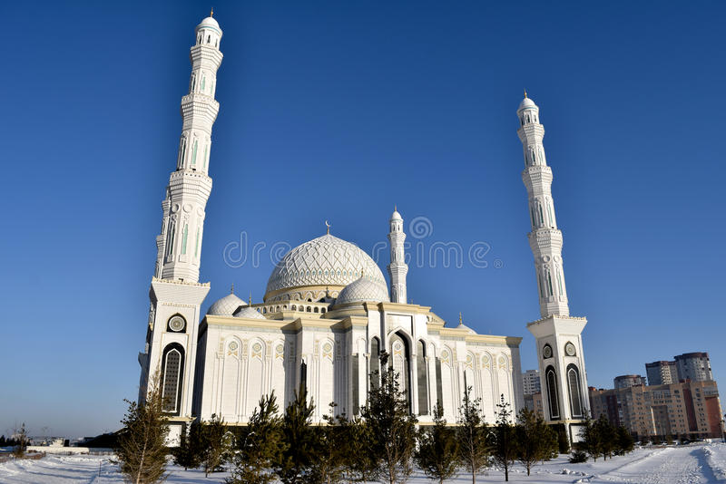 Το μουσουλμανικό τέμενος σουλτάνων Hazret στοκ φωτογραφίες