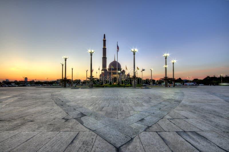 Το μουσουλμανικό τέμενος Putra στοκ εικόνα