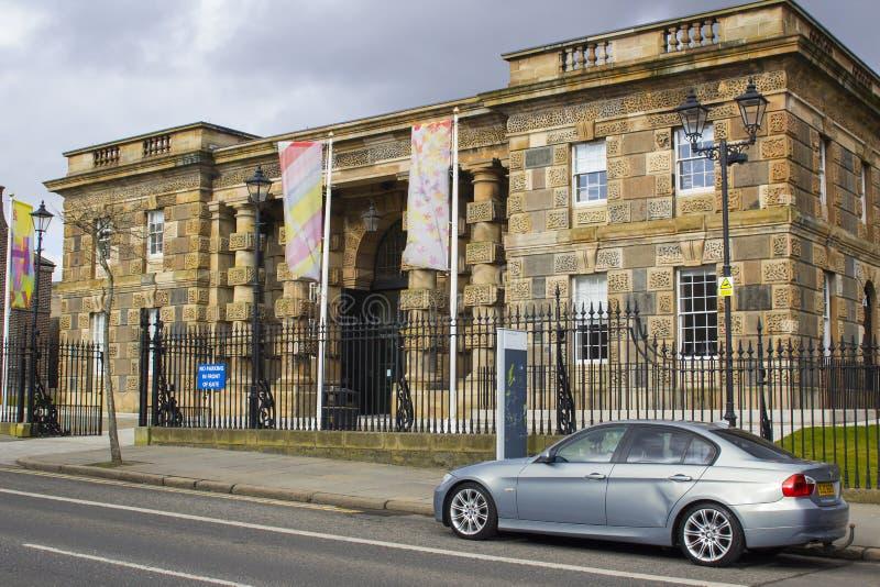 Το Μπέλφαστ Βόρεια Ιρλανδία η ιστορική οδική φυλακή Crumlin που χρησιμοποιούνται τώρα ως σύγχρονο μουσείο και επισκέπτες στρέφετα στοκ εικόνες με δικαίωμα ελεύθερης χρήσης